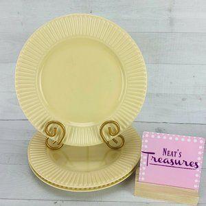 Dansk RONDURE WHEAT Yellow Salad Plate 3